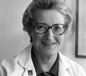 Cicely Saunders, Bild: https://cicelysaundersarchive.wordpress.com/