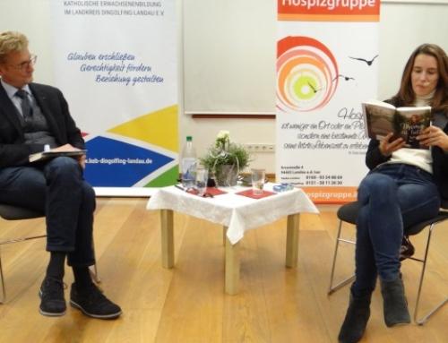 """Pfarrer Dr. Christoph Seidl und Anna Funck: """"Mama ist tot. Und jetzt? Zwei Perspektiven – ein Gespräch"""""""