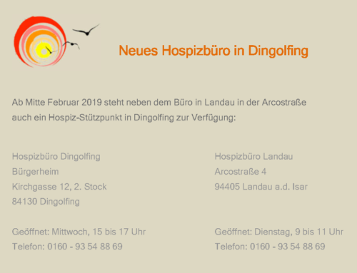 Neues Hospiz-Büro in Dingolfing