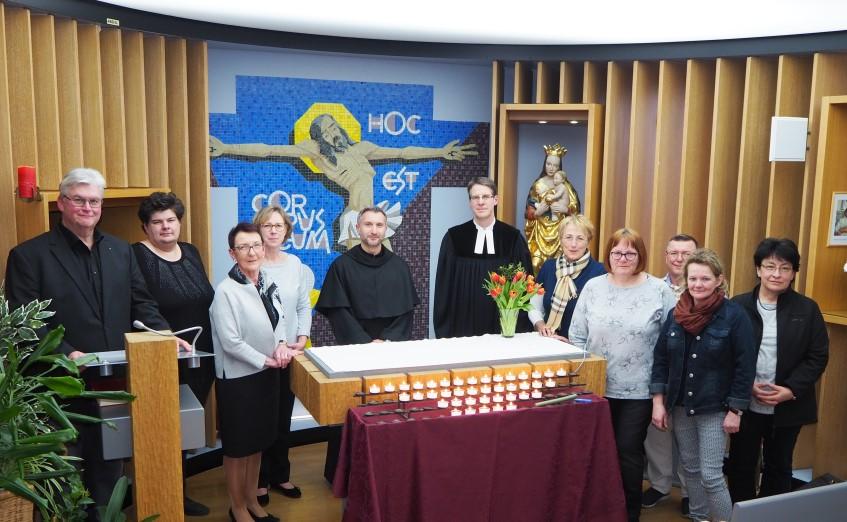 Gedenkgottesdienst in der Krankenhauskapelle in DGF