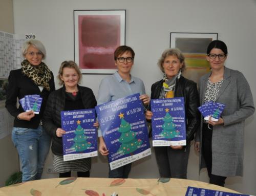 Weihnachtsveranstaltung im Bahnhof Landau zugunsten der Hospizgruppe