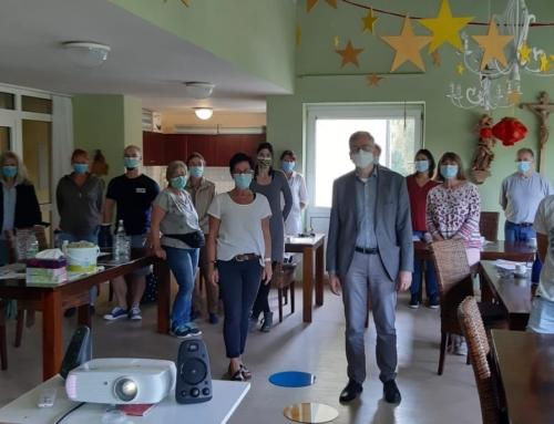 Letzte-Hilfe-Kurs im AWO-Wohnheim in Eichendorf